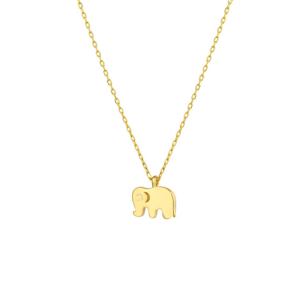 - MINI ELEPHANT NECKLACE