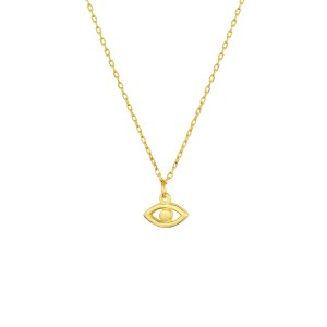 - MINI EVIL EYE NECKLACE