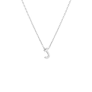 - MINI J INITIAL NECKLACE