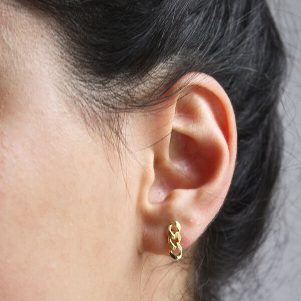 MINI RETRO CHAIN EARRING