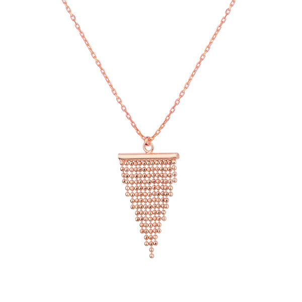 - MINI TASSEL NECKLACE