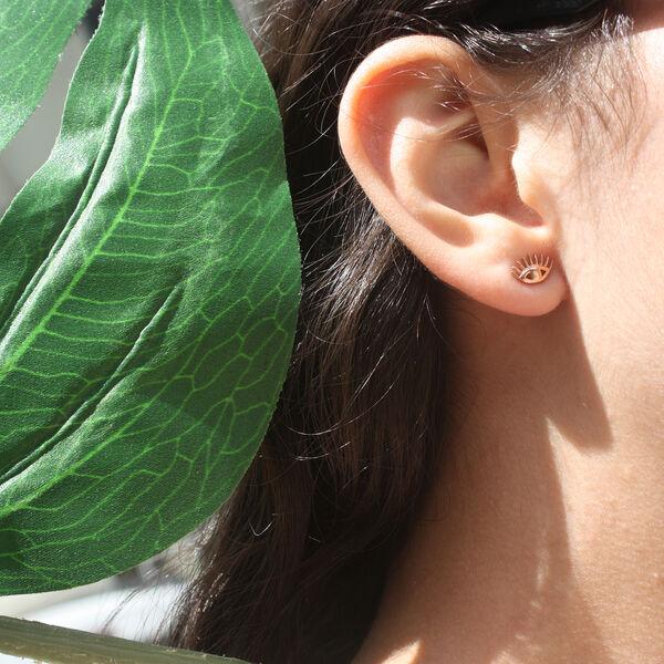 NAZAR EVIL EYE EARRINGS