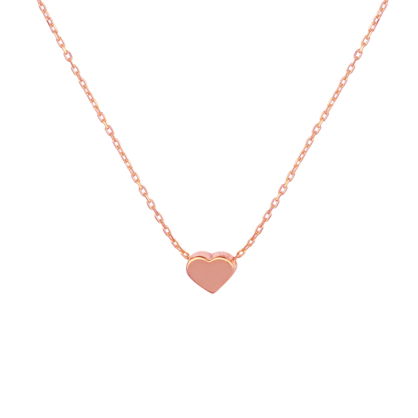 - NEVER ALONE HEART NECKLACE