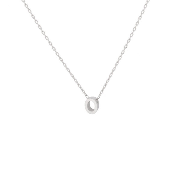 - O INITIAL NECKLACE