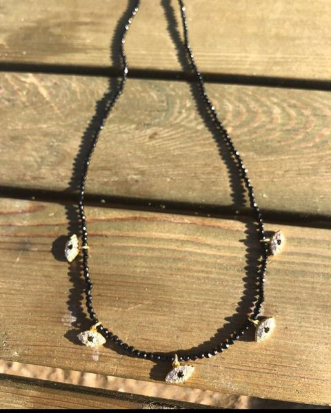 - ONYX EVIL EYE NECKLACE (1)