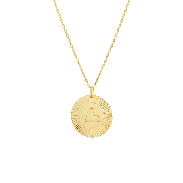 - PITTER PATTER COIN NECKLACE