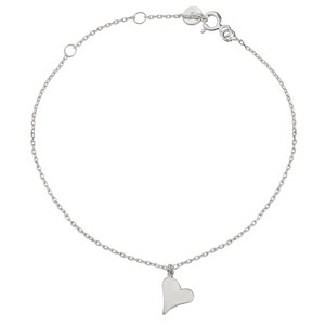 - PITTER PATTER HEART BRACELET