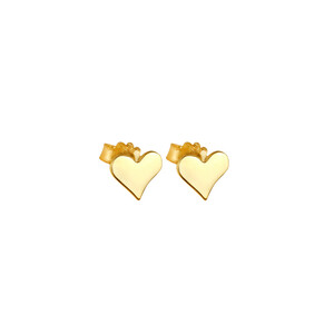 - PITTER PATTER HEART EARRINGS