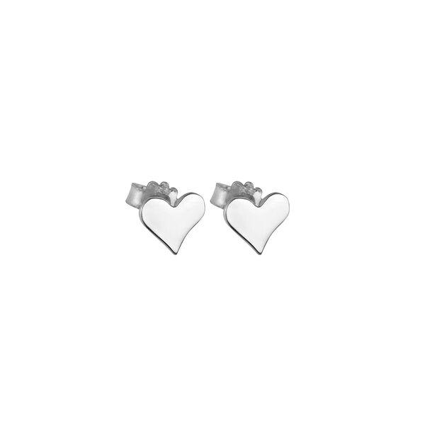 - PITTER PATTER HEART EARRINGS
