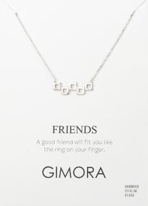 FRIENDS CHARM NECKLACE - Thumbnail