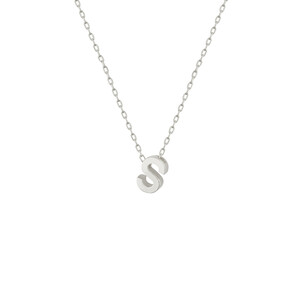 - S INITIAL NECKLACE