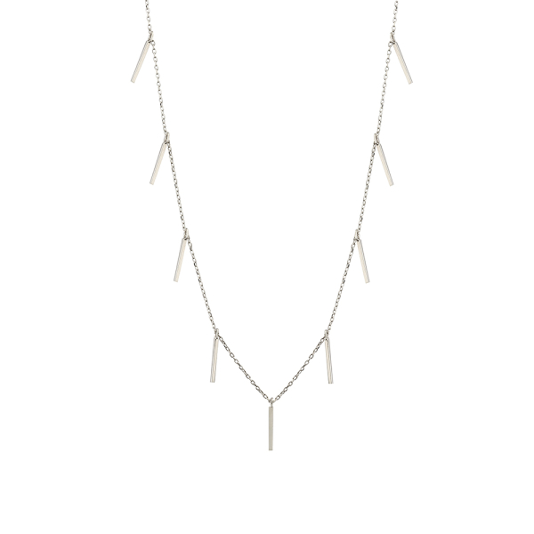- FINE TASSEL NECKLACE