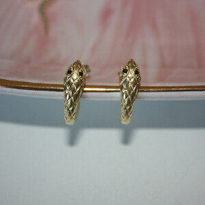 SNAKE DECO EARRINGS - Thumbnail (2)