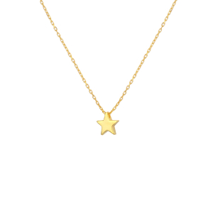 STARY NIGHTS STAR NECKLACE - Thumbnail