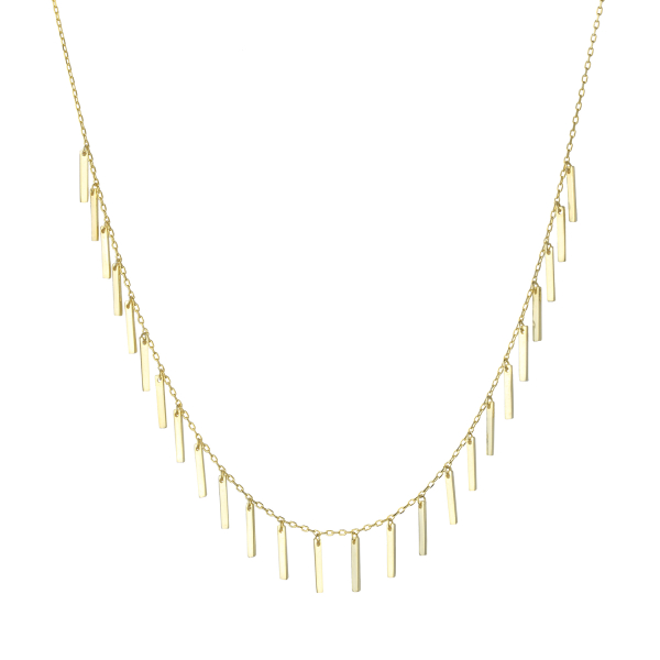 - TASSEL NECKLACE