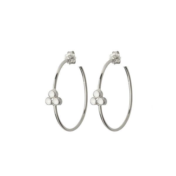 - HOOP TRIA EARRINGS
