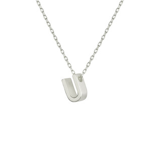 - U INITIAL NECKLACE