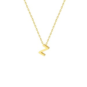 - Z INITIAL NECKLACE